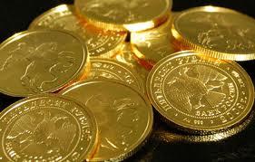 Золотые монеты современной России